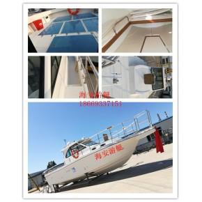 井架钓鱼船钓鱼快艇11米大马力快艇南油钓鱼船