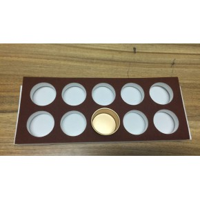 供应茶叶盒防震内衬包装泡沫