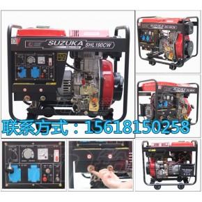 合资品牌5KW190A柴油发电焊机