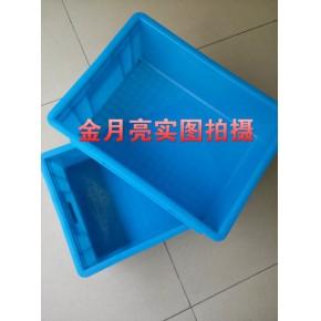 塑料箱 合肥 工厂仓库周转箱 加厚物流箱