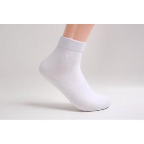 袜子工厂OEM代工外贸长筒棉袜 加工定制品牌袜子