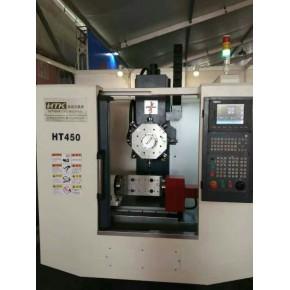 热销经济小型HTK450高速高刚性钻攻中心