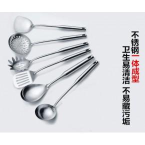 揭阳无磁不锈钢厨具漏勺汤勺锅铲铲子烹饪厨房用品