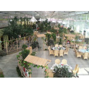 山东玻璃连栋温室厂家承建生态旅游温室大棚项目
