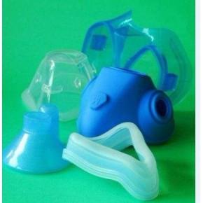 医用硅胶制品  硅胶面罩,硅胶氧气罩模具