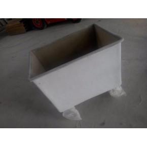 玻璃钢周转箱储物箱多功能箱体可带轮