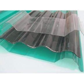 高档钢结构厂房玻璃钢纤维瓦透明采光瓦彩色玻璃钢瓦