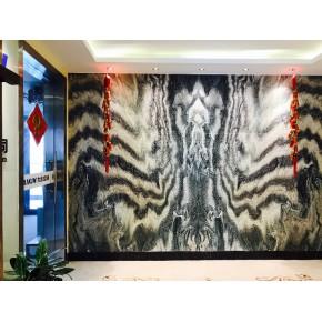 大理石背景墙设计电视墙高端别墅装修石材定制批发