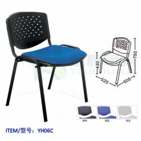 塑钢办公椅教室学生椅员工办公椅阅览室座椅