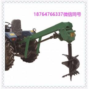 现货供应拖拉机挖坑机 优质四轮电线杆地钻机厂家