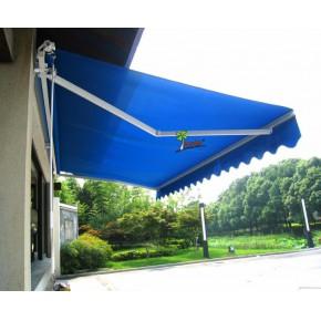武汉户外雨棚遮阳棚电动伸缩遮阳雨篷店面折叠雨蓬