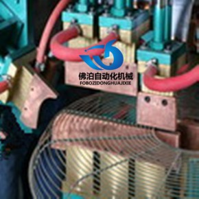 佛泊自动化风扇网罩中环机 气动点焊机 排焊机