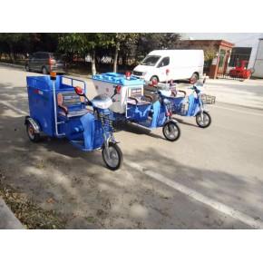 小林清潔載桶垃圾電動 三輪保潔車