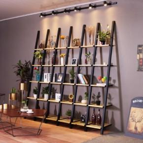 搁板置物架客厅储物收纳层架落地墙壁架创意书架