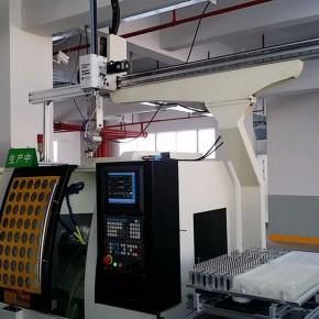 CNC数控车床桁架式工业机械手