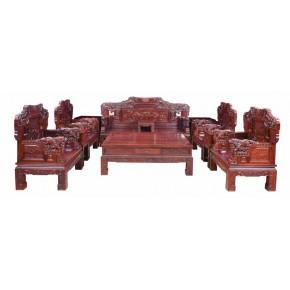 宝马红木沙发 纯红木制作 质量上乘有保障