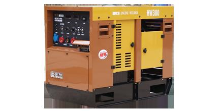 电王汽油发电电焊机HW380