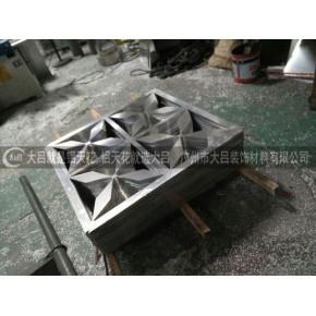 木纹铝窗花厂家 铝合金铝花格 铝单板铝雕花板