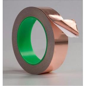 东莞横沥铜箔胶带厂家供应 电磁屏蔽单双导铜箔胶