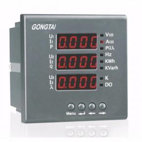 GTP系列数码显示智能三相多功能电力仪表