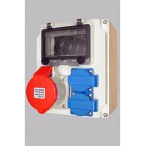 上海必胜易厂家定制电源检修箱工业插头插座检修箱
