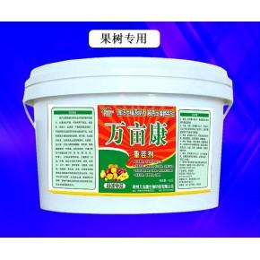 柑橘根腐黄化就用万亩康专业抗重茬剂改土施肥