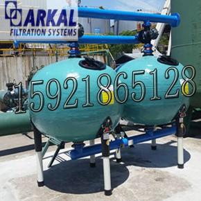 ARKAL印染厂废水处理石英沙砂滤器