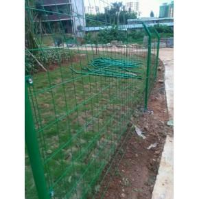 防护绿色铁丝网厂家价格工程护栏防护网围栏