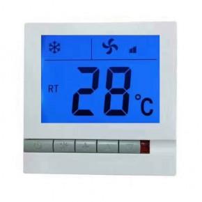 厂销中央空调温度控制器风机盘管液晶温控器