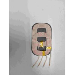 QI标准10W双线圈无线充电发射线圈