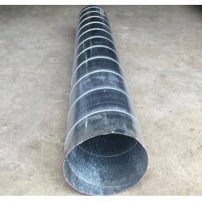 佛山专业除尘排风管道螺旋风管,规格可以定做