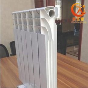 供应压铸铝双金属散热器R7002钢芯铸铝暖气片
