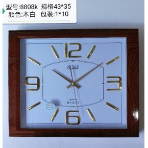 大量批发品牌挂钟上海钟表戈贝尔创意静音时尚壁钟