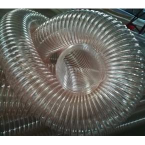 木工机械吸尘专用钢丝伸缩PU管