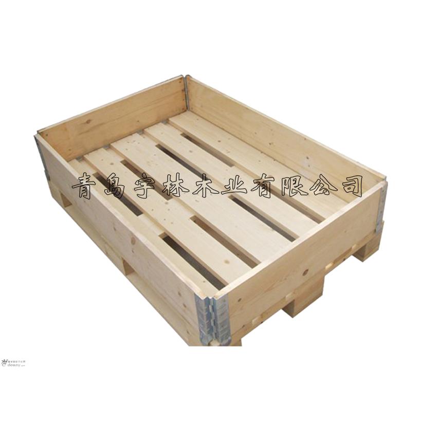 黄岛托盘厂家供应免熏蒸包装箱支持定制尺寸欢迎咨询