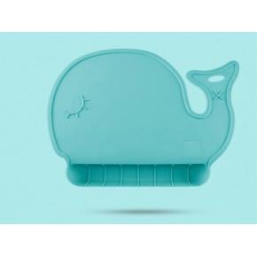 宝宝餐垫硅胶 儿童防滑防漏便携餐桌垫碗垫可折叠