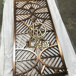 杭州不锈钢屏风定制,不锈钢屏风,汇兴诚金属制品