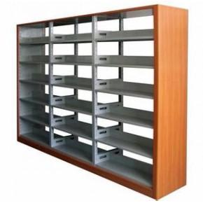 临沂图书馆书架A钢制书架参数4层隔板高美观大方
