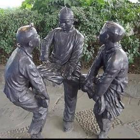 玻璃钢雕塑动漫模型园林广场景观厂家定制