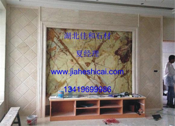 湖北武汉大理石材电视背景墙,壁炉 厂家定做