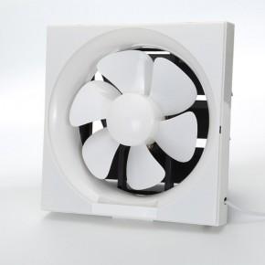 万花排气扇带百叶厨房油烟排风扇窗式抽风机通风扇
